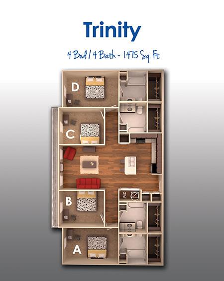 1,474 sq. ft. floor plan