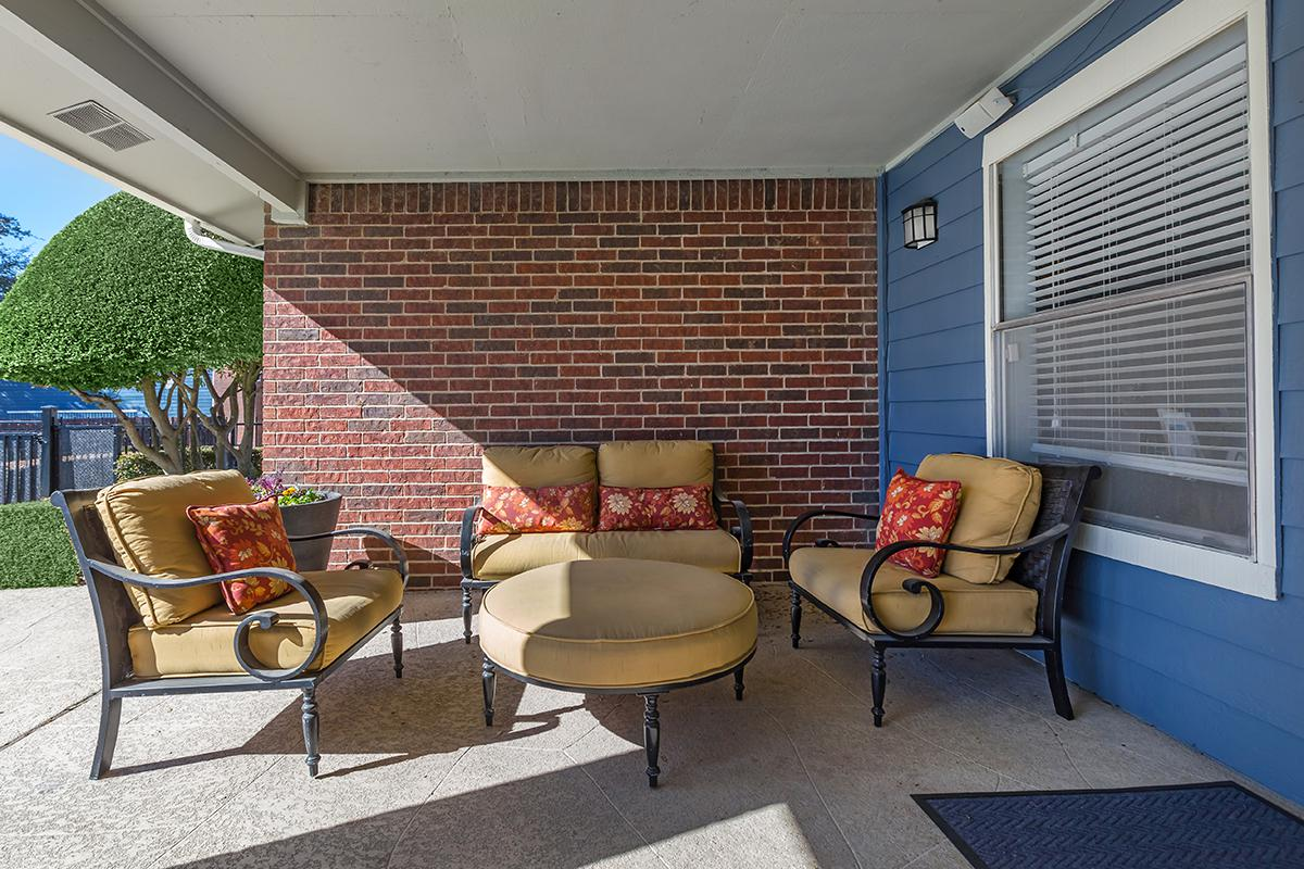 Patio at Listing #136120