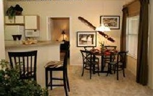 Kitchen/Dining Area at Listing #144691