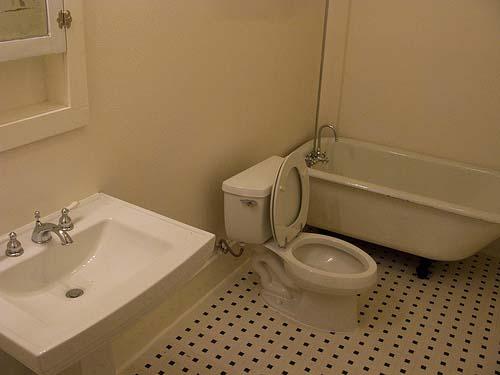 Bathroom at Listing #145772