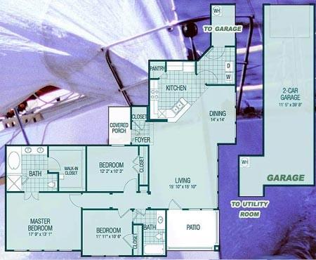 2,174 sq. ft. C3 Starboard floor plan