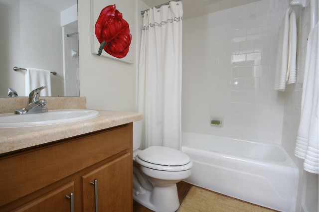 Bathroom at Listing #135684