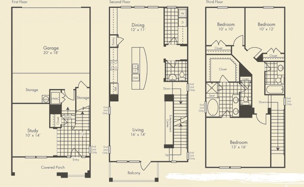 2,213 sq. ft. Grandmanor floor plan