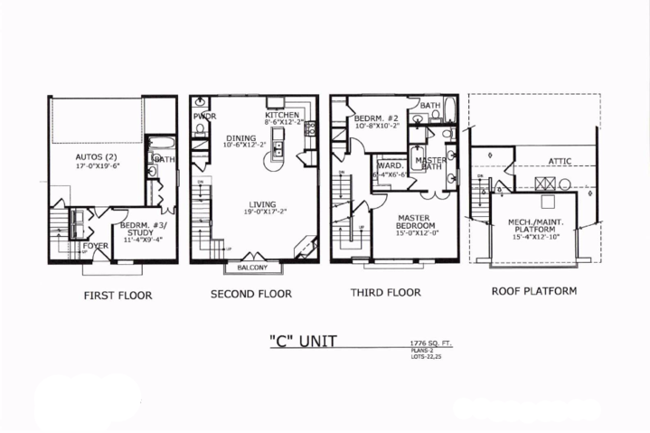 1,776 sq. ft. C floor plan