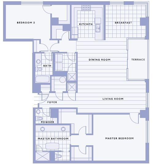 2,217 sq. ft. G floor plan