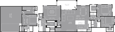 1,910 sq. ft. D3 floor plan