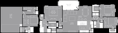 1,910 sq. ft. D3 floor plan
