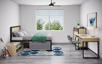Bedroom at Listing #310632