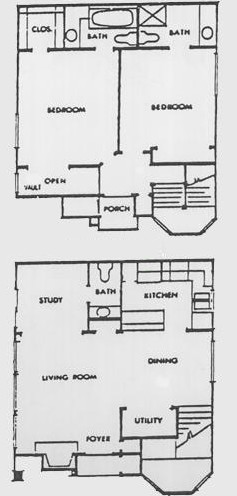 1,096 sq. ft. G floor plan