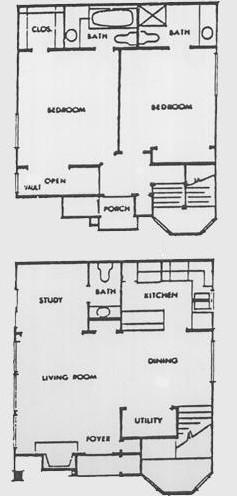 1,096 sq. ft. G floor plan