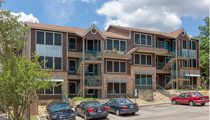 Elevation on Post Apartments