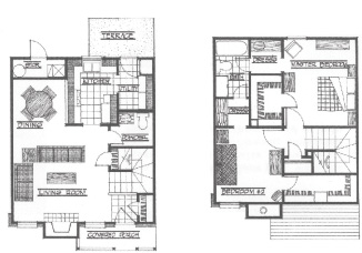 1,120 sq. ft. Chisholm floor plan
