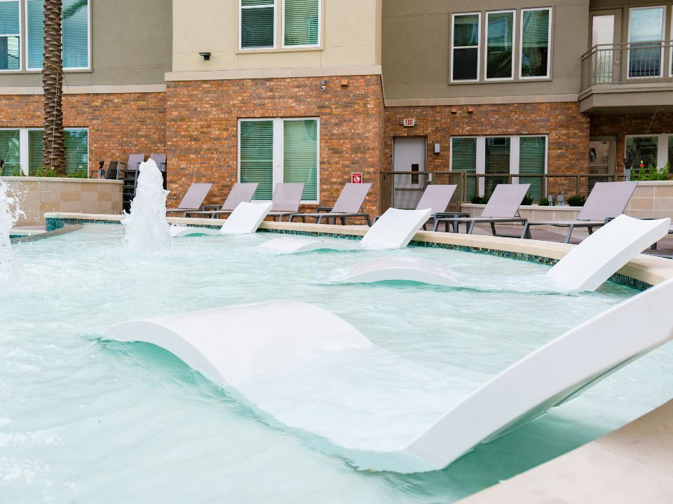 Pool at Listing #279809