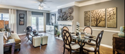 Living/Dining at Listing #140642