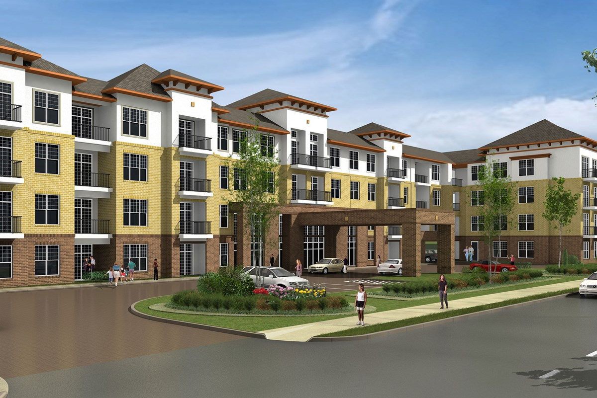 Domain West Apartments Houston TX