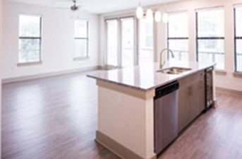 Living/Kitchen at Listing #287083