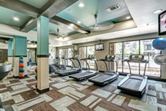 fitness center at Listing #147759