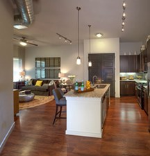Living/Kitchen at Listing #227414