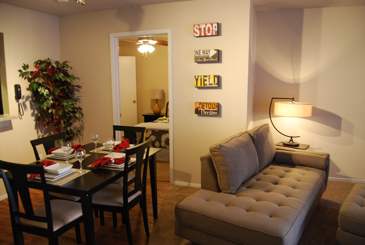 Living/Dining at Listing #135630