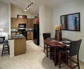 Dining/Kitchen at Listing #144780