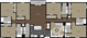 2,697 sq. ft. 6B1-V floor plan