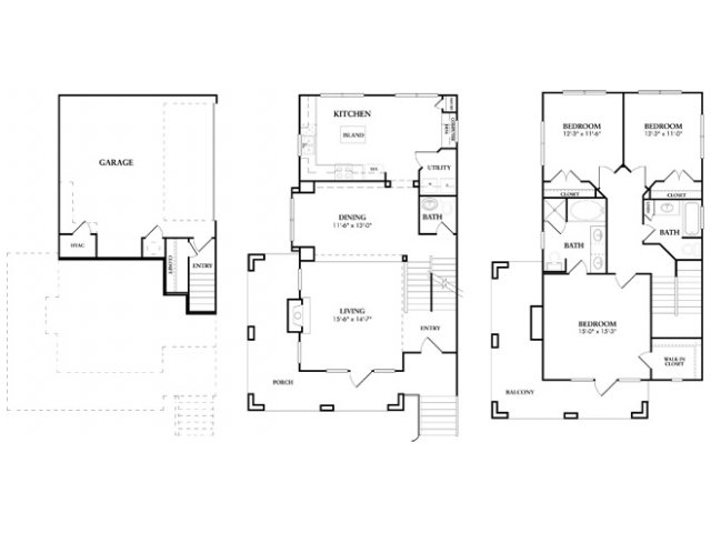 1,766 sq. ft. Yorkchester floor plan