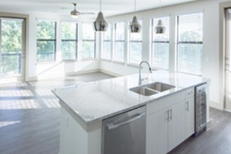 Living/Kitchen at Listing #299572