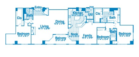 3,169 sq. ft. PT3 floor plan