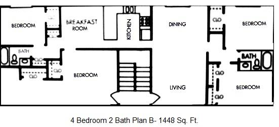 1,448 sq. ft. floor plan