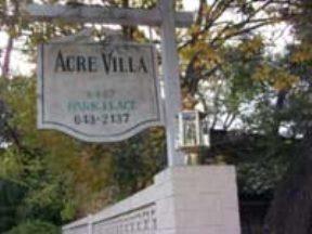 Acre Villa Apartments Houston TX