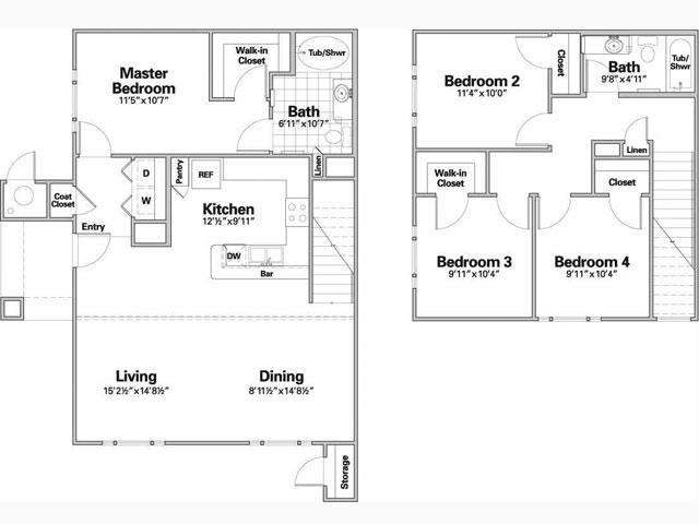 1,489 sq. ft. ASTURIAS/60% floor plan