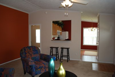 Living/Kitchen at Listing #144503