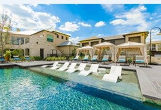 Pool at Listing #257403