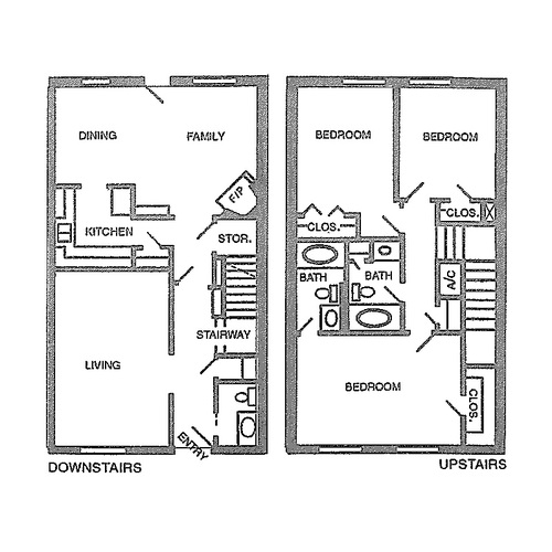 1,566 sq. ft. F floor plan