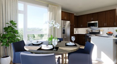 Dining/Kitchen at Listing #310644