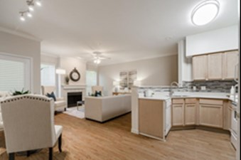 Living/Kitchen at Listing #137664