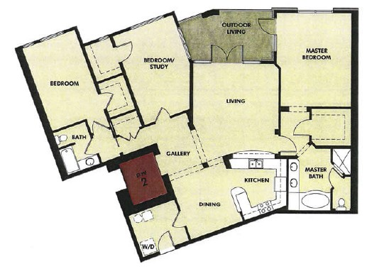 1,875 sq. ft. San Marcos floor plan