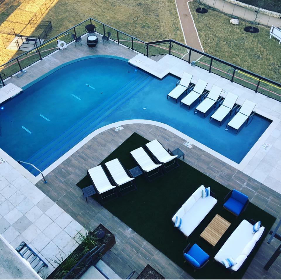 Pool at Listing #261176
