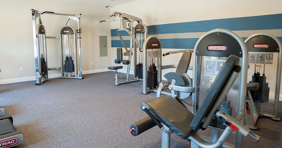 Fitness Center at Listing #147788