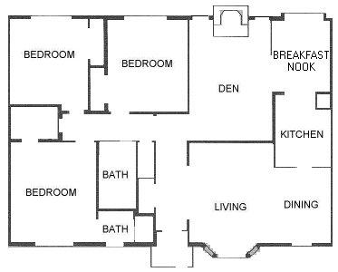 1,428 sq. ft. floor plan