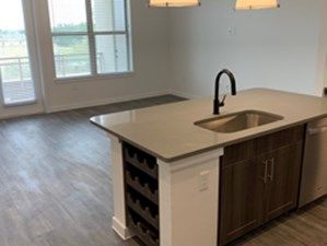 Living/Kitchen at Listing #310369