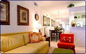 Living/Dining at Listing #147739