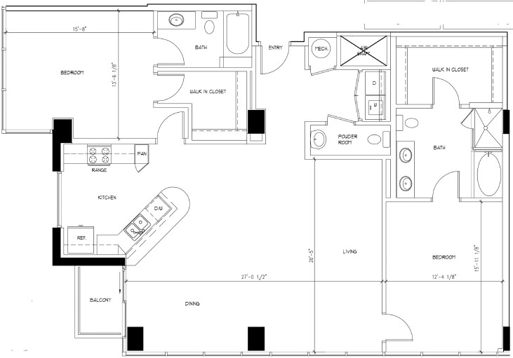 1,674 sq. ft. floor plan