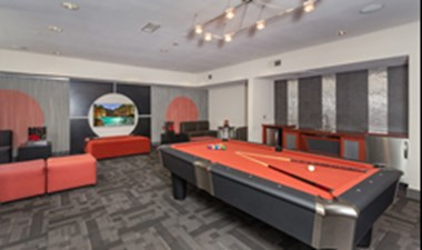 Gameroom at Listing #145830