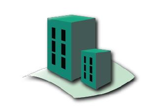 606 sq. ft. A1 floor plan