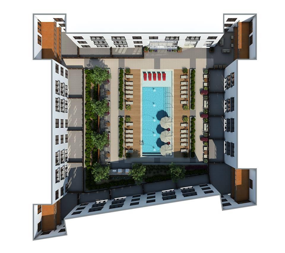 Pool at Listing #265605