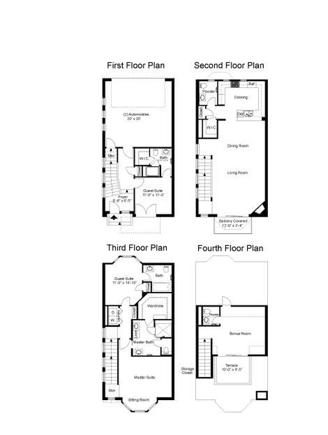 2,539 sq. ft. Augusta floor plan