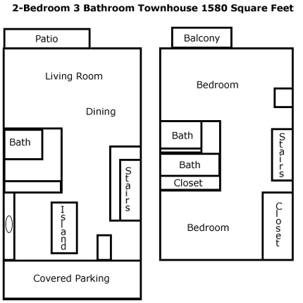 1,580 sq. ft. floor plan