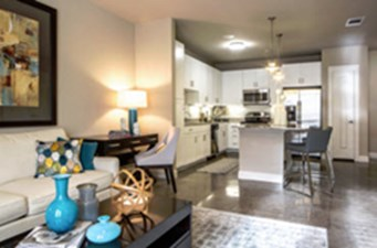 Living/Kitchen at Listing #243473
