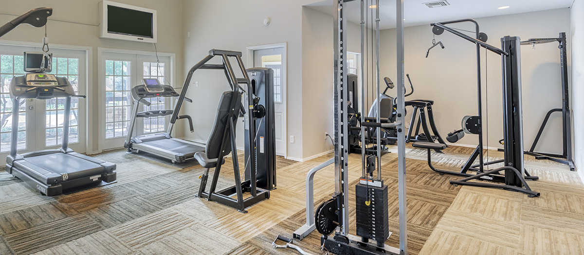 Fitness Center at Listing #136247